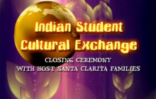 Indian Student Cultural Exchange: Closing Ceremony