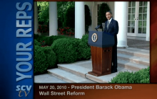 5/20/2010 President Obama on Wall Street Reform in the Senate
