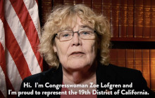 Weekly Democratic Response: Congresswoman Zoe Lofgren