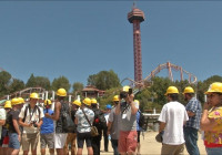 Six Flags to Debut World's First Racing Launch Roller Coaster
