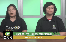 Canyon News Network 8-28-19 | Counselor Corner