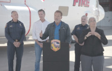 CAL FIRE C-130 Press Conference – August 1, 2019