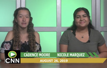 Canyon News Network 8-26-19 | Weather & Sports Report