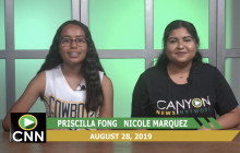 Canyon News Network 8-29-19 | Athlete of Week