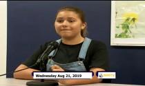 Miner Morning TV, 8-21-19