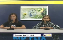 Miner Morning TV, 8-22-19