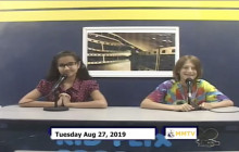 Miner Morning TV, 8-27-19