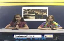 Miner Morning TV, 8-27-19