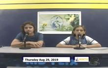 Miner Morning TV, 8-29-19