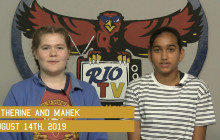 Rio TV, 8-14-19