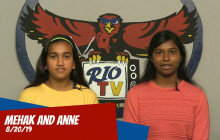 Rio TV, 8-20-19