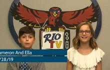 Rio TV, 8-28-19
