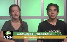Canyon News Network, 9-9-19 | Weather and Sports Report