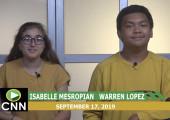 Canyon News Network, 9-17-19 | Sports & Leadership