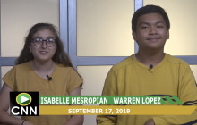 Canyon News Network, 9-17-19 | Sports & Leadership