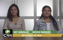 Canyon News Network, 9-20-19 | VO Homecoming