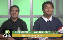 Canyon News Network, 9-30-19   Sports and Weather