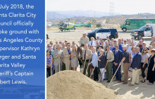 Santa Clarita Valley Sheriff's Station | Project Milestones