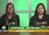 Canyon News Network, 9-11-19 | September 11 Memorial, Homecoming
