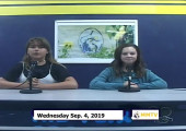 Miner Morning TV, 9-4-19