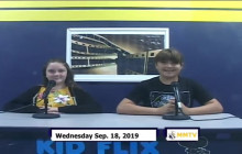 Miner Morning TV, 9-18-19