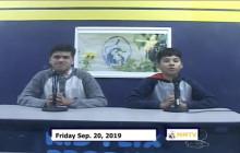 Miner Morning TV, 9-20-19