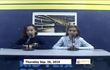 Miner Morning TV, 9-26-19