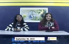Miner Morning TV, 9-30-19
