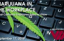 VIA Monthly Luncheon: Marijuana in the Workplace