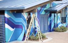 Santa Clarita Skatepark Mural, Sulphur Springs USD, more