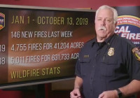 CAL FIRE Report, October 14, 2019