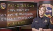 CAL FIRE Report, October 21, 2019