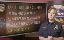CAL FIRE Report, October 21, 2019