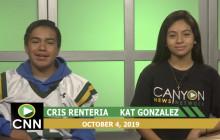 Canyon News Network, 10-4-19 | Cesar Chavez