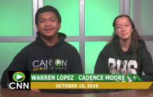 Canyon News Network, 10-10-19 | Sports
