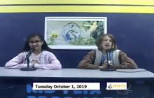 Miner Morning TV, 10-1-19
