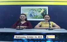 Miner Morning TV, 10-16-19