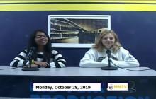 Miner Morning TV, 10-28-19
