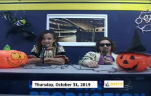 Miner Morning TV, 10-31-19