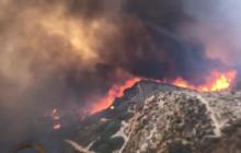 LA County Firehawk Helicopters Fighting Tick Fire