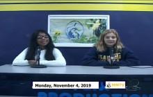 Miner Morning TV, 11-4-19