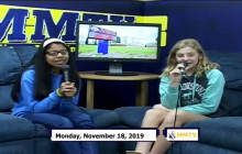 Miner Morning TV, 11-18-19