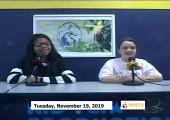Miner Morning TV, 11-19-19