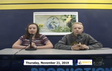 Miner Morning TV, 11-22-19