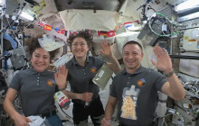 Thanksgiving Message from NASA Astronauts in Space