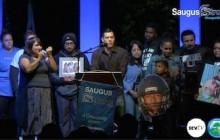 #SaugusStrong Vigil