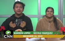Canyon News Network | December 16, 2019