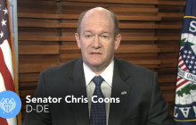 Weekly Democratic Response: Senator Chris Coons (D-DE)