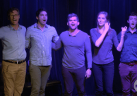 The Society Comedy Troupe Provides Night of Laughter