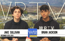 West Ranch TV, 12-10-19 | WR Wish Fairy, Driving PSA